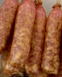 Saucisse mélangée fumée porc & bœuf