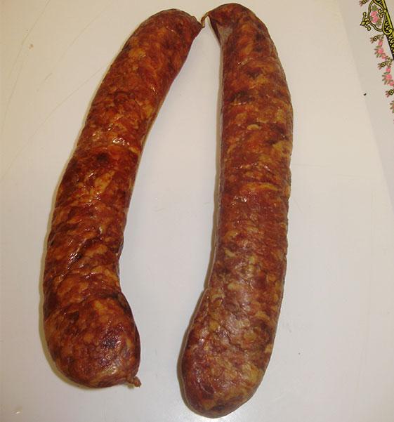 Saucisse Terroir fumée (5 kg)